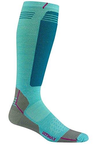 wigwam-chaussettes-neige-hellion-pro-unisexe-turquoise-aqua