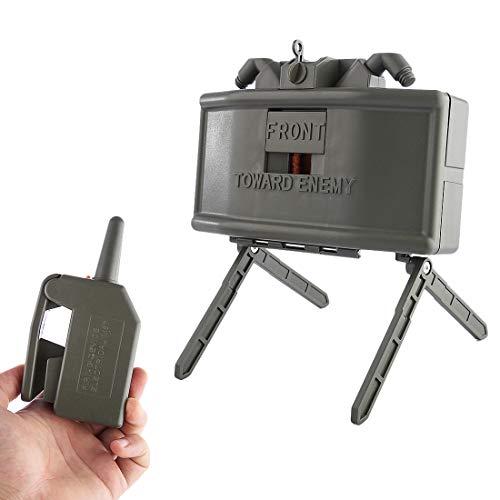 Jo332Bertram Remote Detonation Device Launcher Wasserbomben Fernbedienung Detonierenden Claymore Mine Landmine Spielzeug für Nerf CS Spiel (Mine Airsoft)