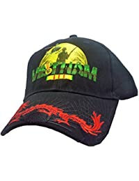 Vietnam Vet Dragon Cap, Black