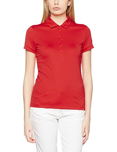 NIKE Damen Polo Hemd Victory Solid rot / weiß