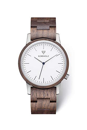 kerbholz orologio analogico quarzo uomo con cinturino in legno 4.25124e+12