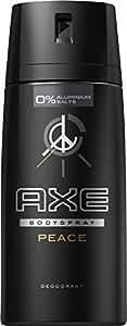 AXE Deospray Peace ohne Aluminium, 3er Pack (3 x 150 ml)