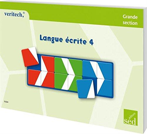 Langue écrite 4 Grande section : Fichier Véritech 24 fiches