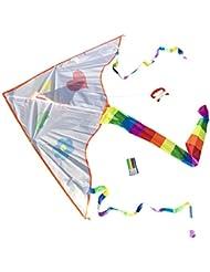 Toller Kinder-Drachen zum selbst bemalen inclusive Schnur und 4 Stiften   Drachenflieger   Kinderdrachen   Individueller Drachen   Drache zum selber Basteln   Kindergeburtstag   Basteln für Kinder molinoRC® BRD