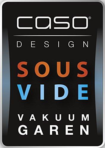 Caso 1308 Sous Vide Stick SV 200 mit Umwälzpumpe für konstante Wassertemperatur, Timerfunktion, 800 W, silber / schwarz - 8