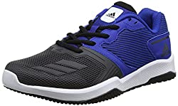 adidas Herren Gym Warrior 2 M Hallenschuhe, Blau (Collegiate Royal/utility Black/footwear White), 44 2/3 EU