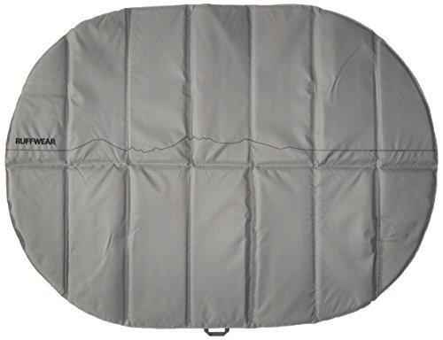 Ruffwear Isomatte für Hunde, Ideal für Camping und Rucksackreisen, One Size - Passend für die meisten Hunderassen, Grau (Granite Grey), Highlands Pad, 1050-035M (Schlafsack Pad)