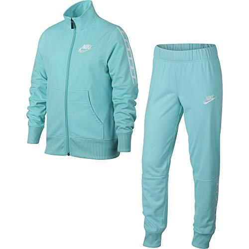 Nike G Nsw Trk Tricot Trainingsanzug, Türkis (light aqua/White), M