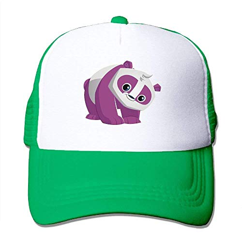 dfegyfr Purpurrote Panda-justierbare Sport-Mütze Baseballmütze Trucker Cap Sun Hüte Multicolor76 (Kostüm Jugend Panda)