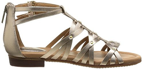 Clarks Viveca Rome, Damen Sandalen Gold (Gold Leather)