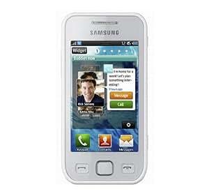 Samsung Wave 575 Téléphone portable 3G+/Quadri bande Bluetooth Wi-Fi Blanc