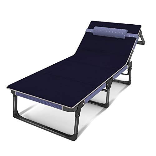 Betten Klappbett mit Matratze, Home Mittagspause, Nickerchen Büro, einfachen Rest Support Rollsnownow