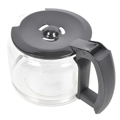 41Wwl306yWL. SS500  - SPARES2GO Glass Jug Carafe for Russell Hobbs 14899 Coffee Machine
