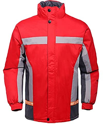 EKU Men's Windproof Winter Warm Outdoor Sport Jacket Outwear 2XL As Picture