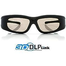 "2x Gafas 3D DLP-Link ""Wave Xtra"" - Full HD 1080p - 144Hz - Gafas universales compatible con todos los proyectores 3D DLP"
