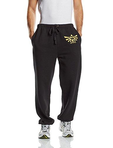 Nintendo Zelda - Golden Logo Pantaloni jogging nero XL