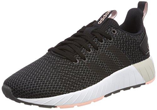 adidas Damen Questar BYD Sneaker, Schwarz (Core Black/Haze Coral), 37 1/3 EU (Adidas Top Tops-wettbewerb)