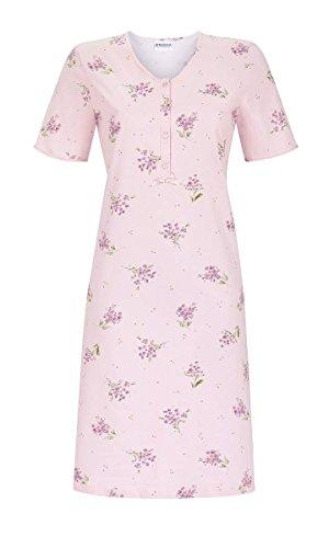 Ringella Damen Nachthemd mit Kurzarm Puder 42 9211067, Puder, 42
