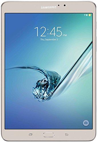 Samsung SM-T719NZDEXEO Tablet Android 5.0, 20,3 cm (8 Zoll) gold/weiß/schwarz