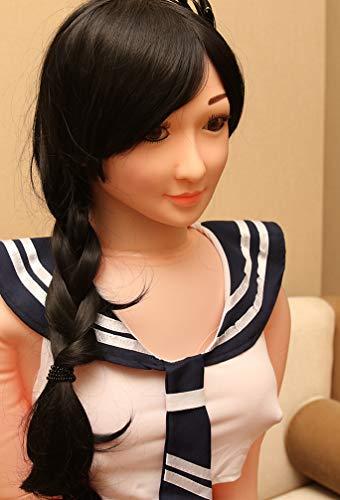 JOYY Gummipuppe für Männer 3D Liebespuppe Erotik Masturbator Sexpuppe TPE Realistische Love Doll Sexspielzeug Torso mit Vagina Anus und Busen 155cm