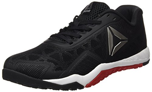 Reebok Bd5890, Chaussures de sport homme Noir (Black/Excellent Red/Pewter)