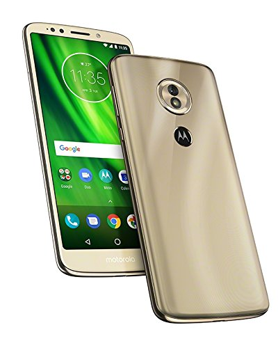 motorola moto g6 Play 5.7-Inch Android 8.0 Oreo SIM-Free Smartphone with 3GB RAM and 32GB Storage (Single Sim) - Fine Gold