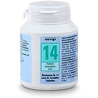 Schüssler Salz Nr. 14 Kalium bromatum D12 - 400 Tabletten, glutenfrei