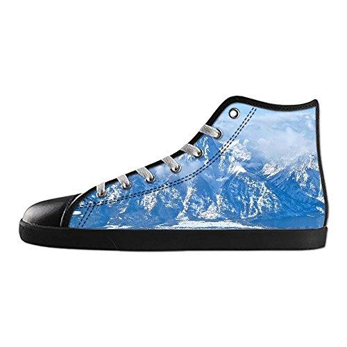 Dalliy innevate montagne Men s Canvas Shoes Scarpe Lace Up High Top Sneakers a vela panno scarpe Scarpe di tela sneakers b