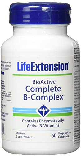 Life Extension Bioactive Complete B-complex, 60 Count