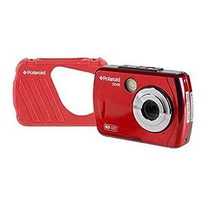 Polaroid iS048 Waterproof Digital Camera (Red)