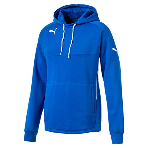 PUMA Kinder Pullover Hoody, Blau (Royal-white), 152, 653979 02 - Blauer Kinder Pullover