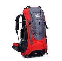 Skysper- 65L Mochila Multifuncional de Senderismo Trekking Mochila Nylon impermeable Morral que acampa Mochila viaje al aire libre