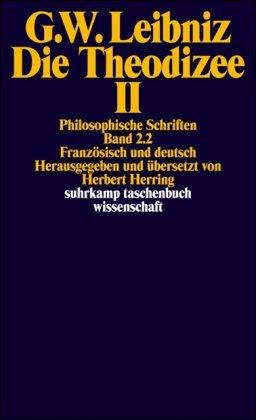 Die Theodizee. Zwei Bände.