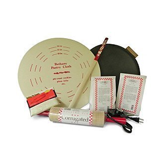 8 Piece Lefse Starter Kit, Non-stick Grill by Bethany Housewares - Bethany Grill
