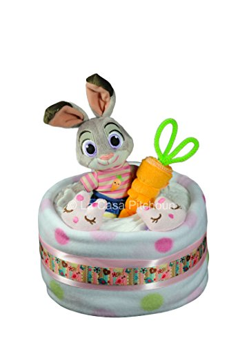 GATEAU DE COUCHES PAMPERS DISNEY JUDY HOOPS 1ETAGE