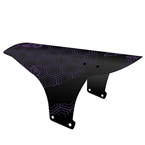 rideguard-unisex-pf1-blockbuster-mtb-front-fender-mountain-bike-mudguard-black-purple