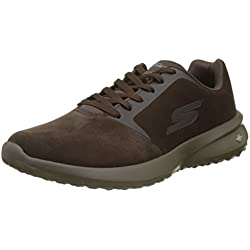 Skechers On-The-go City 3, Zapatillas de Entrenamiento para Hombre, Marrón (Chocolate), 44 EU