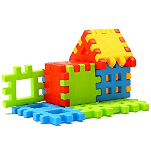 Sartham, Building Block Toy for Kids, Age 3 to 10 Years (Multicolor)