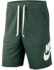Nike M NSW He Short FT Alumni, Pantaloncini Corti Uomo, Fir Sail, S