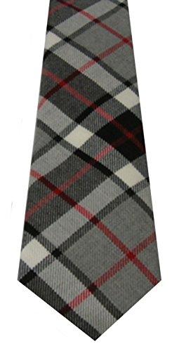 Lochcarron of Scotland Thompson Grey Tartan Tie