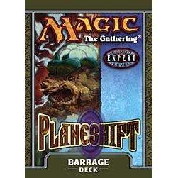 Magic the Gathering MTG Planeshift Barrage Theme Deck
