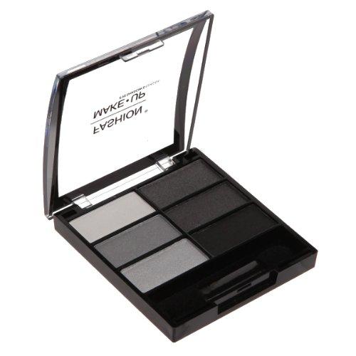 Fashion Make-Up FMU1100401 Ombres à Paupières 6 Classic N°1 Déclinaison Noir
