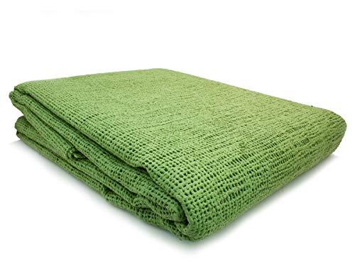 Primaflor - Ideen in Textil Vorzeltteppich Aerotex Zeltteppich Campingteppich Zeltboden - Grün, 2,50m x 4,00m Weichschaum-Beschichtetes Jutefasergewebe Outdoor Teppich Bodenbelag
