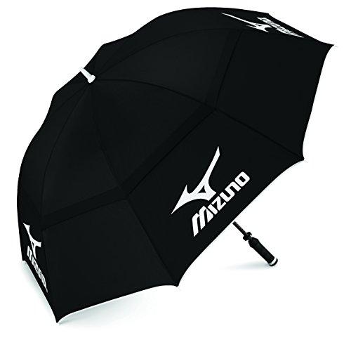 Mizuno Twin Canopy - Paraguas unisex, color negro
