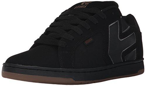 Etnies Fader 2, Chaussures de Skateboard Homme, Noir Black/Gum, 41 EU