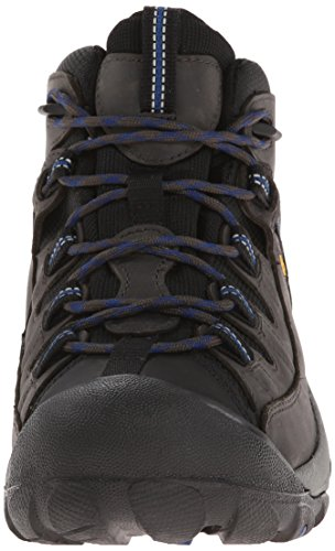 Keen Targhee Ii Mid, Scarpe da Escursionismo Uomo, Braun (Shitake / Brindle), Taglia Unica Blau (Magnet/True Blue)