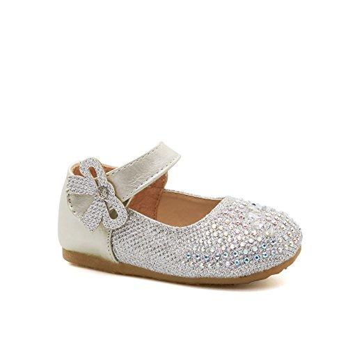 London Footwear ,  Mädchen Ballett Silber