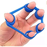 ningbao951 Silicone Finger Stretcher Hand Gripper Forearm Wrist Training Resistance Band Muscle Power Training Ring Exerciser Trainer