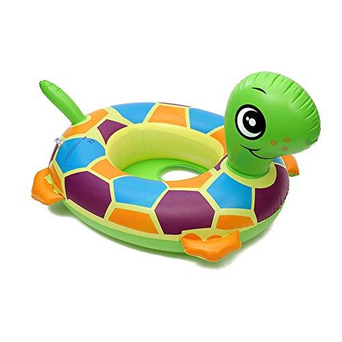 Cartoon-Tiere schwimmen Ring , Chickwin Baby Aufblasbare Schwimmbad Float Swim Ring Kleinkind Sicherheit Aufblasbare Sitzring Sitz Schwimmen Ring (Schildkröte)