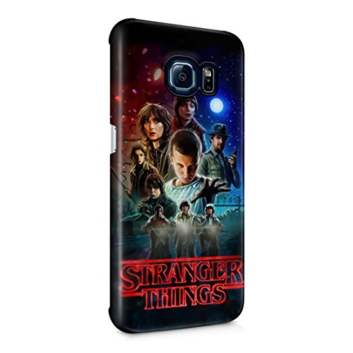 Stranger Things All Characters Samsung Galaxy S6 EDGE Hard Plastic Phone Case Cover